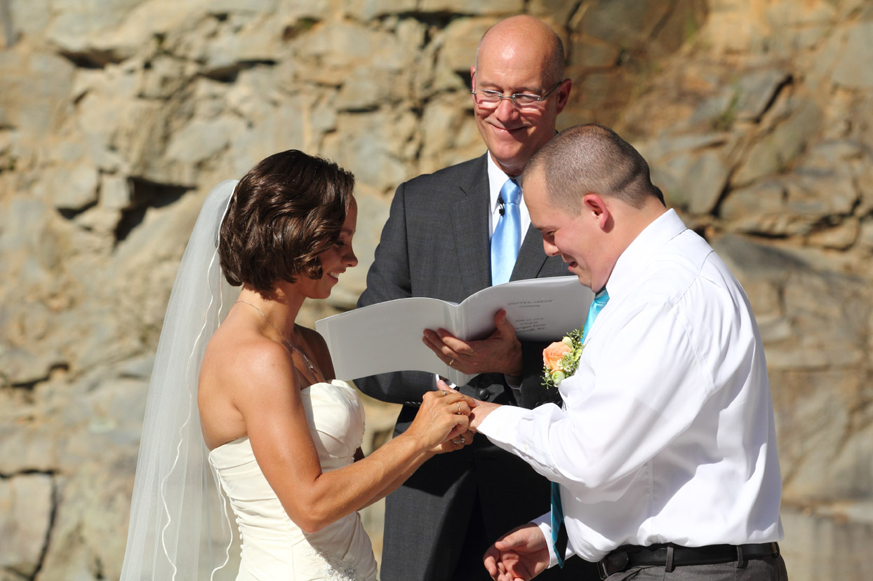 Lake Norman Officiant: Ryan Cannon